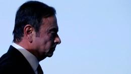 Automanager Ghosn plante Fusion von Nissan und Renault