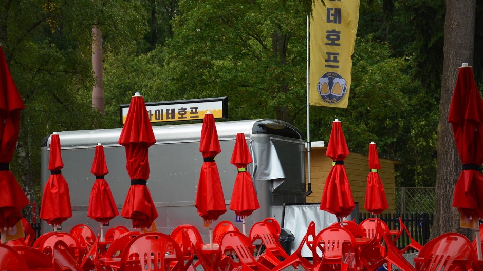 Ein bisschen Heimat: Das koreanische Restaurant Heidekrug am Oberurseler Waldrand.