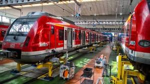 Großklinik für Züge