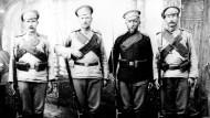 Russische Soldaten des 1. Weltkriegs, 1914