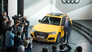 Audi in der Klemme
