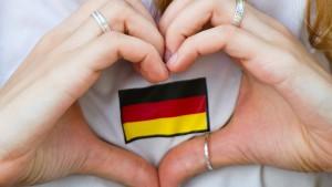 Deutschlands zarter Patriotismus