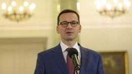 Polens Regierungschef: Lassen uns nicht von der EU erpressen