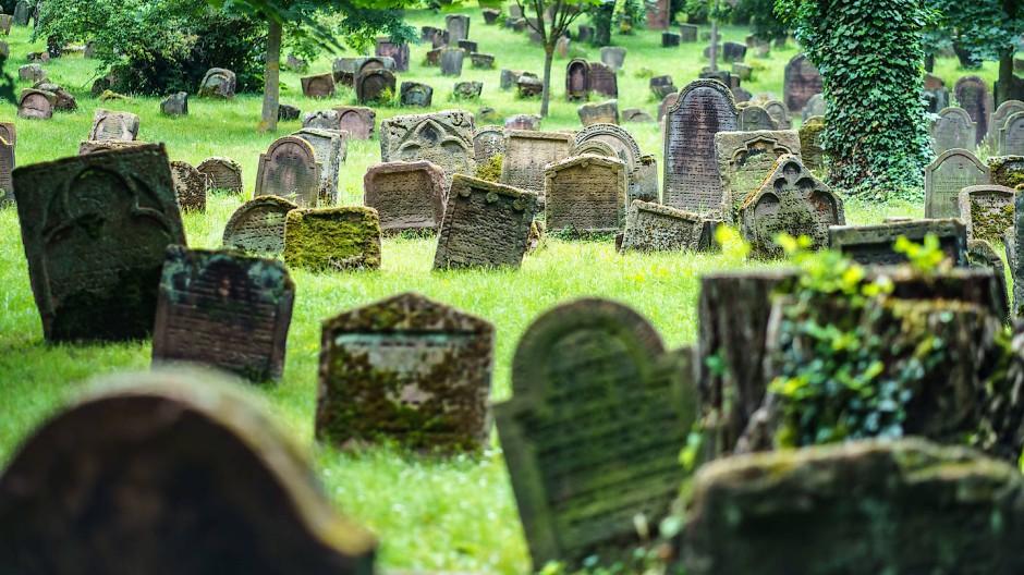 """Einstmals der größte seiner Art: der jüdische Friedhof """"Heiliger Sand"""" in Worms"""