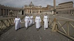 Warum die Corona-Krise auch den Vatikan hart trifft