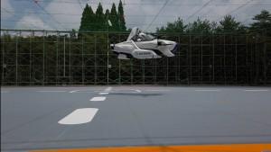 Kleinstes Flugauto der Welt hebt in Tokio ab