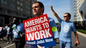 Arbeitslosenquote in Amerika sinkt auf den tiefsten Stand seit vier Jahren