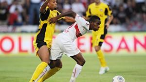 Stuttgart zittert sich in die Europa League