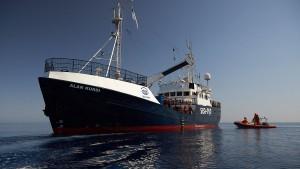 """""""Alan Kurdi"""" abermals von italienischer Küstenwache festgesetzt"""