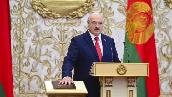 Lukaschenka bei unangekündigter Zeremonie vereidigt
