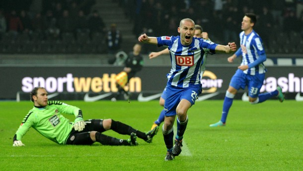 Hertha BSC übernimmt Tabellenspitze
