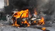Luftangriffe auf Idlib