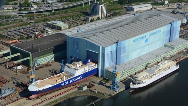 Russische Käufer interessieren sich für P+S-Werft