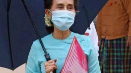 Suu Kyi bei Video-Gerichtsanhörung aufgetreten