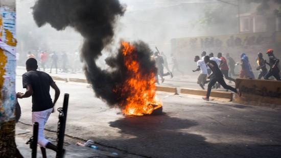 Ausschreitungen in Haiti