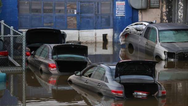 Zahl der Flutopfer an der US-Ostküste steigt