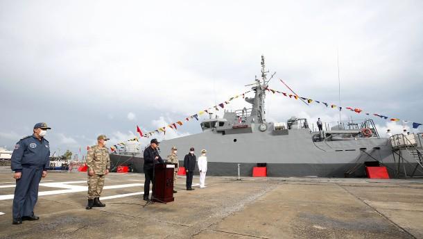 """Türkische Marine verhindert """"Irini""""-Einsatz"""