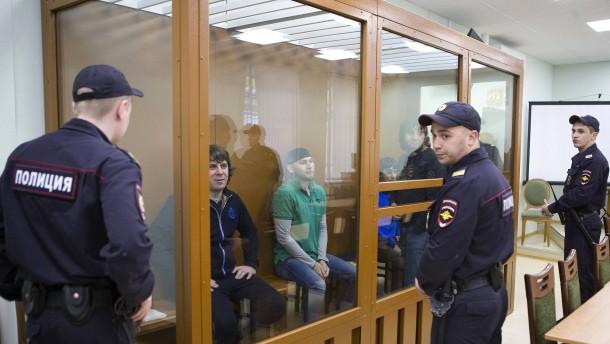 Lange Haftstrafen für Mord an Boris Nemzow
