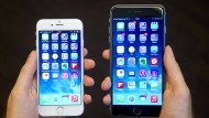 Zwei iPhones der 6er-Serie