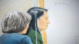Huawei-Finanzchefin gegen Kaution vorerst freigelassen