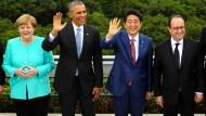 G7 beraten über Weltwirtschaft