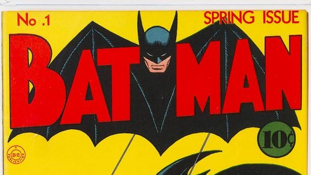 Batman-Comic von 1940 für über 2 Millionen Dollar verkauft
