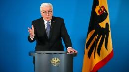 Steinmeier unterzeichnet Infektionsschutzgesetz