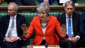 Auch Mays neuer Brexit-Deal wird abgeschmettert