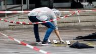 """Attentäter von Hamburg rief offenbar """"Allahu Akbar"""""""
