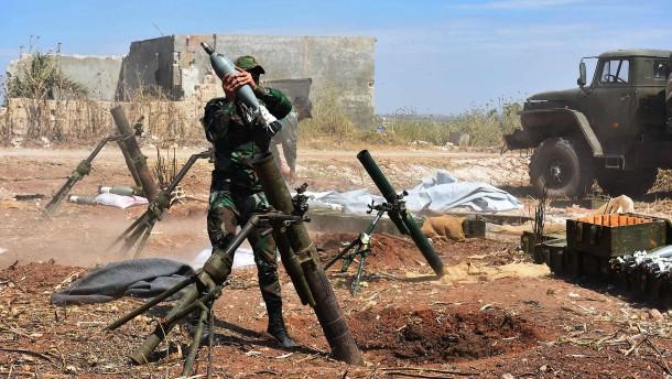 Türkischer Soldat bei Beschuss in Syrien getötet
