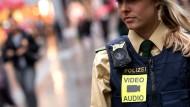 Bayerische Polizisten testen Body-Cams