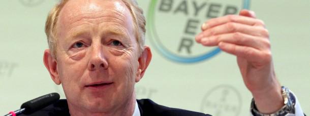 Der Vorstandsvorsitzende von Bayer, Marijn Dekkers.