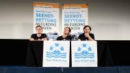 Pressekonferenz von Sea-Watch am 2. Juli in Berlin