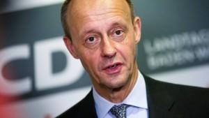 CDU-Politiker fordert Mitgliederentscheid über Kanzlerkandidatur