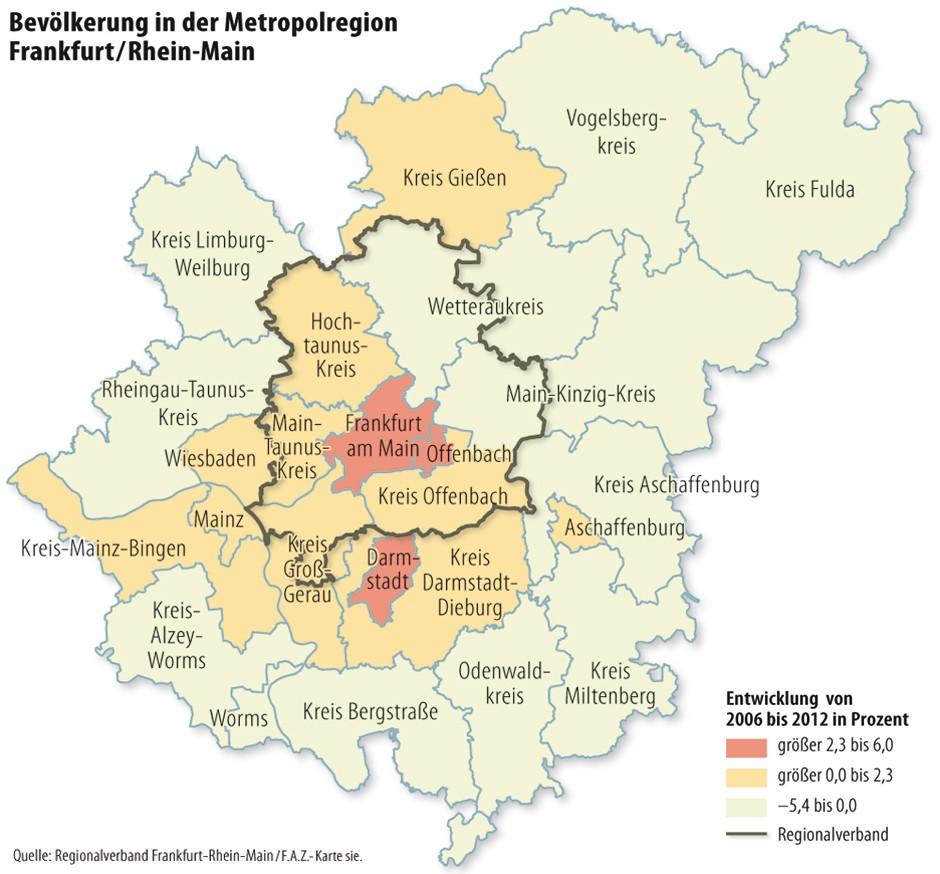 bild zu gro raum frankfurt rhein main metropolregion w chst wie wenige andere bild 1 von 1 faz. Black Bedroom Furniture Sets. Home Design Ideas