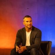 """Der ehemalige Boxprofi Wladimir Klitschko bei der Eröffnung des Lesefests """"Open Books"""" am Dienstag."""