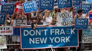Der Fracking-Krieg am Gartenzaun