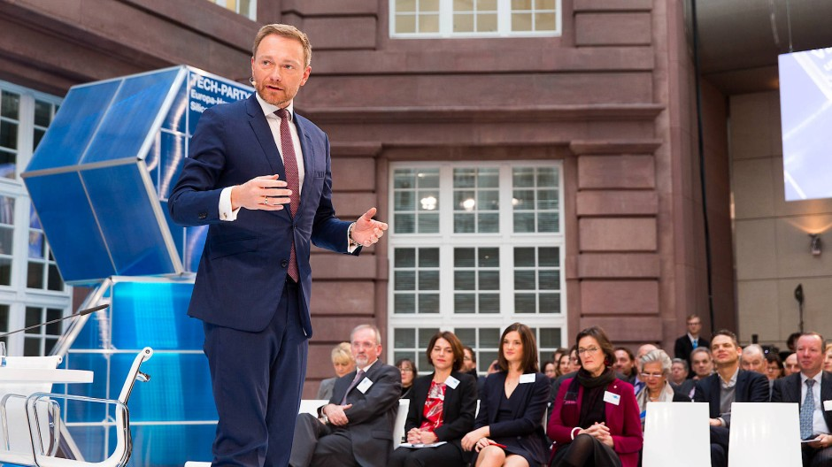 Christian Lindner hat bei der Grundrente bewiesen: Die FDP lebt. Hier spricht er bei einer Veranstaltung im Dezember 2017.