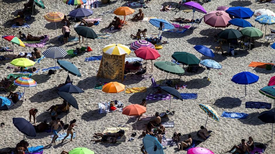 Strand von Tropea im südlichen Italien