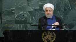 """Iran droht Trump mit """"resoluter Antwort"""""""
