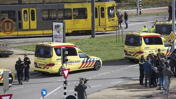 Schüsse im niederländischen Utrecht