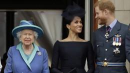 """Harry und Meghan müssen auf Markennamen """"Sussex Royal"""" verzichten"""