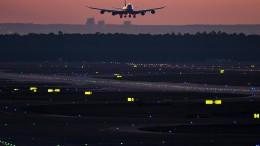 Frankfurter Flughafen wegen Drohnensichtung zeitweise gesperrt