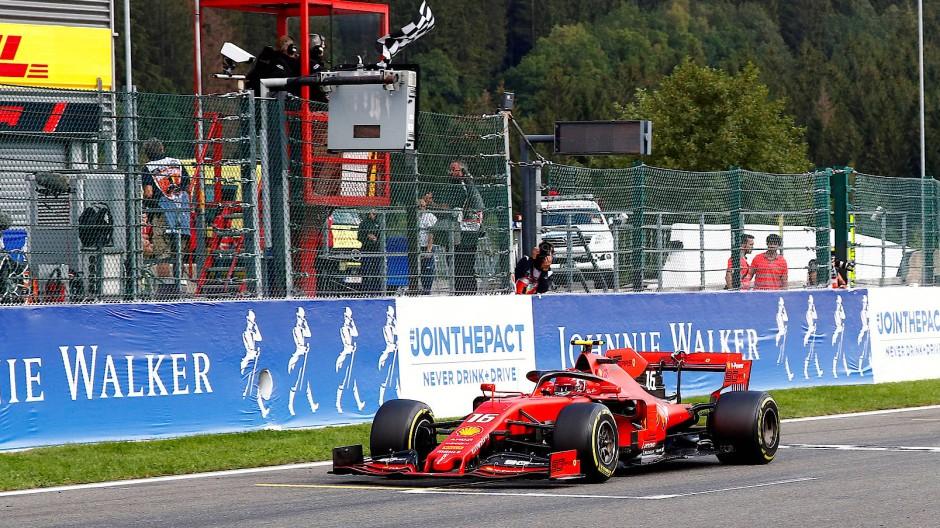 Formel 1 Startaufstellung Spa