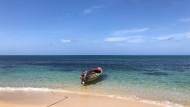 Keine Spur von der Hektik in Berlin: Strand auf Jamaika