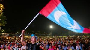 Politische Erschütterung in Malaysia