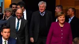 SPD und Union hoffen auf Abschluss