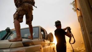 Libyscher Rebellen-Chef lehnt Waffenruhe ab