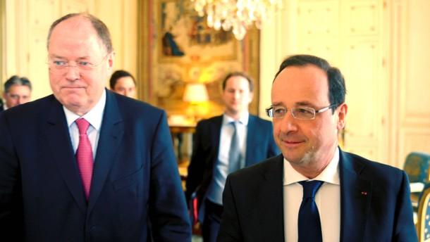 Peer Steinbrück in Paris