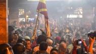 EU übt scharfe Kritik an Ausschreitungen in Mazedonien
